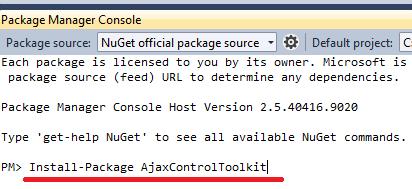 Integrate AjaxControlToolkit 5