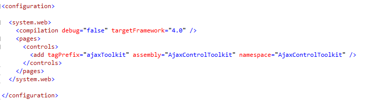 Integrate AjaxControlToolkit 3