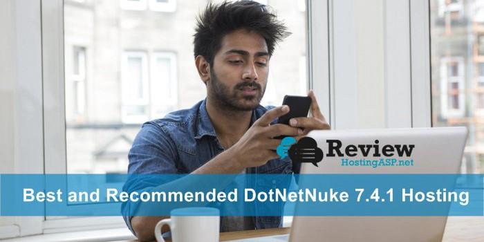 Top 3 Best and Recommended DotNetNuke 7.4.1 Hosting