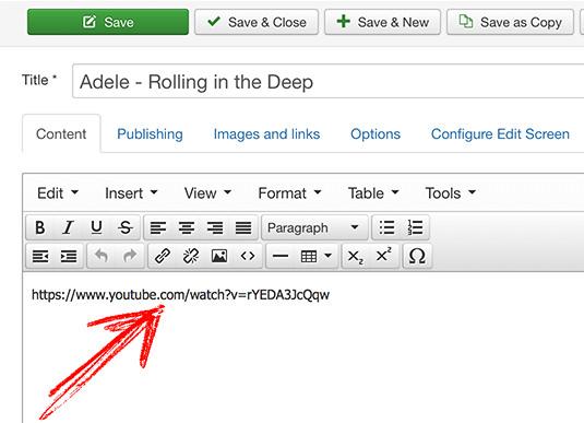 Display Video as Slideshow in Joomla Page 1