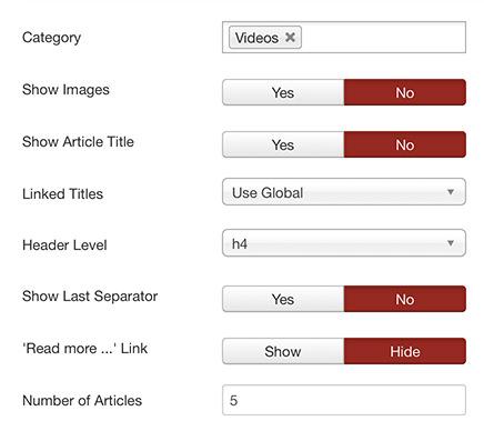 Display Video as Slideshow in Joomla Page 5