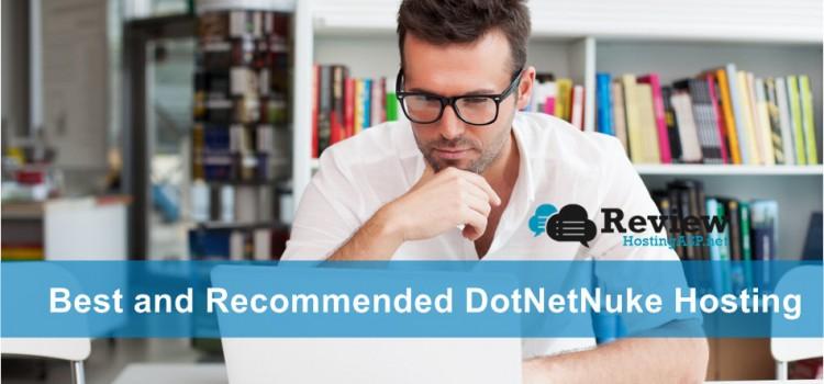 Best and Recommended DotNetNuke Hosting Provider