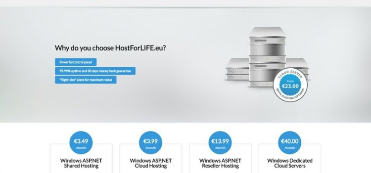 HostForLIFE.eu Windows Cloud Server Plans: Is It Worth Your Money?