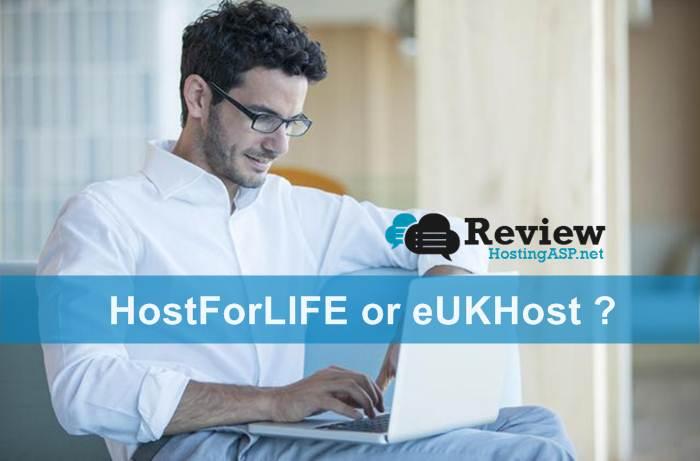 Hostforlife VS eUKHost Best ASP.NET 5 Hosting Comparison