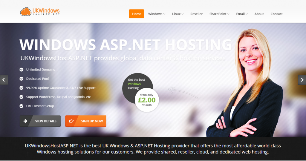 UKWindowsHostASP.NET - Best and Recommended Entity Framework 7 Hosting