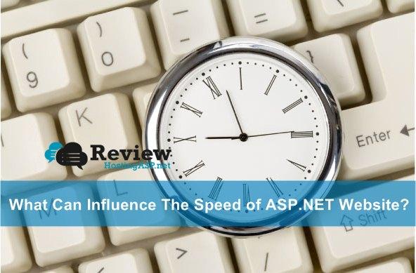 The Speed of ASP.NET Website