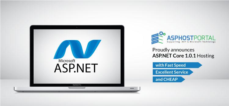 ASPHostPortal.com Announces ASP.NET Core 1.0.1 Hosting Solution