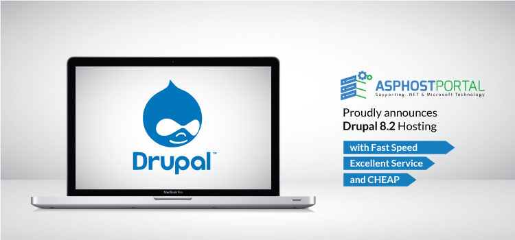 ASPHostPortal.com Announces Drupal 8.2 Hosting Solution