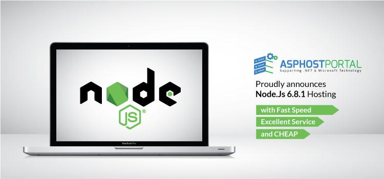 ASPHostPortal.com Announces Node.Js 6.8.1 Hosting Solution