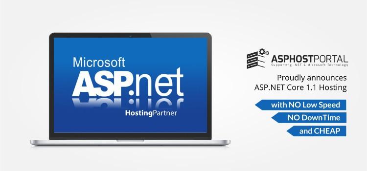 ASPHostPortal.com Announces ASP.NET Core 1.1 Hosting Solution