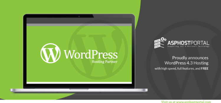 ASPHostPortal.com Announces WordPress 4.3 Hosting Solution