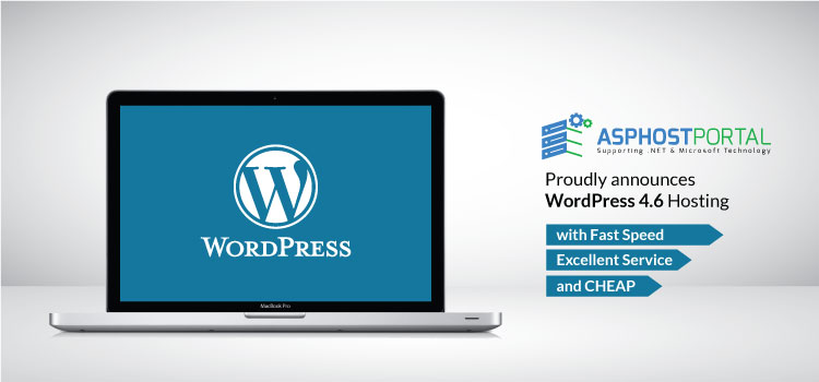 ASPHostPortal.com Announces WordPress 4.6 Hosting Solution